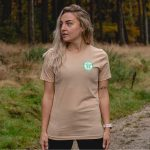 Accredited Canine First Aider Official T-shirt in Sand