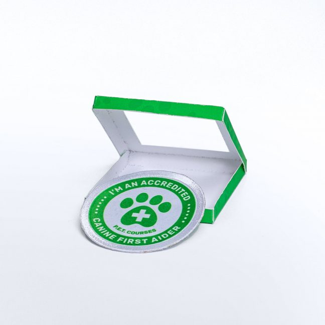 Accredited Canine First Aider Official Sew On Patch